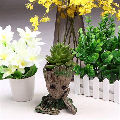 ซื้อ กระถางดอกไม้ G Root การ์ตูนกระถางดอกไม้ผู้ถือปากกาของ ...