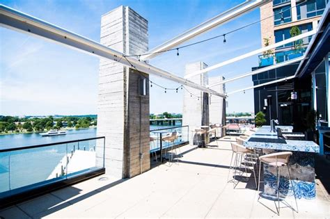 vie dc rooftop washington restaurants bars terrace wharf bar lavie yelp month october restaurant outdoor private event read