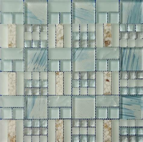 sea glass tile sea glass tiles backsplash blue sea glass tile kitchen