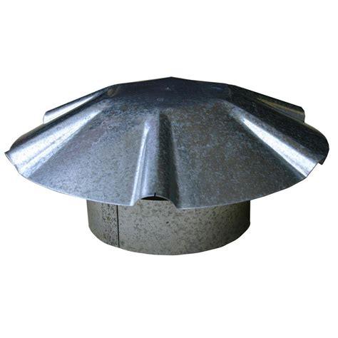 exhaust fan kitchen speedi products 4 in galvanized umbrella roof vent cap ex