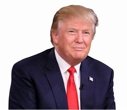 Trump Donald Clipart Transparent Face Background Head