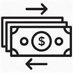 Flow Cash Icon Financial Vectorified
