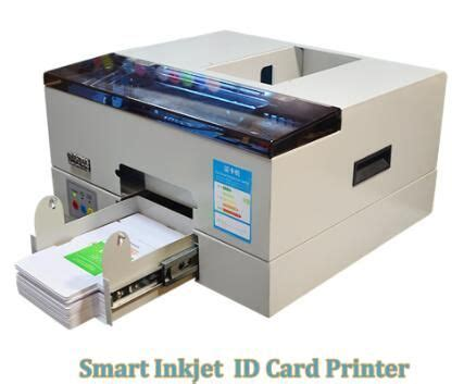 smartautomaticinkjetpvcidcardprinter pvc id card printer