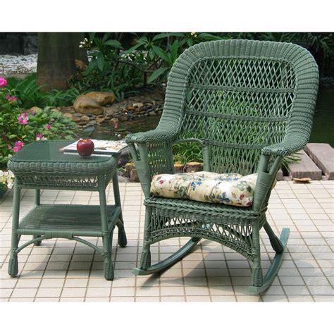 chicago wicker 174 4 pc mackinac wicker patio furniture