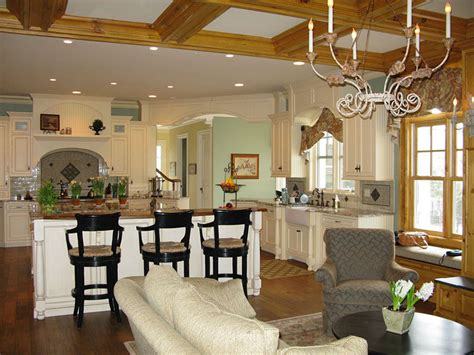shingle style home traditional open floor plan fiori interior design
