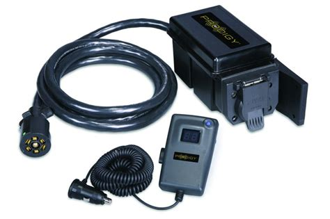 hitch 90250 prodigy 174 rf proportional electronic 1 to 3 axle brake controller quadratec