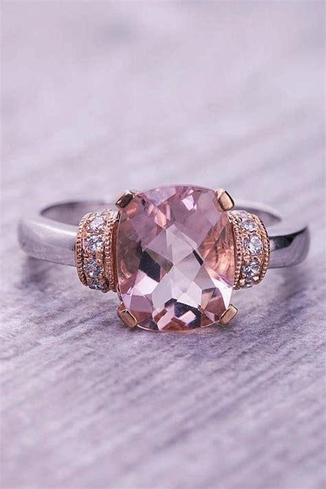 cheap  stylish morganite engagement rings