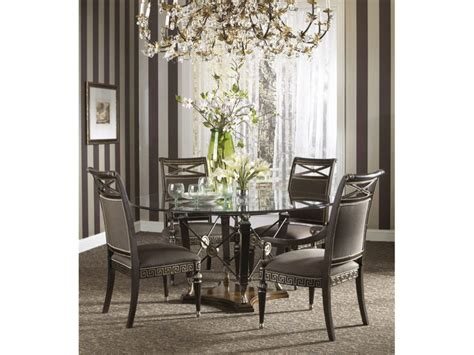 Kitchen & Dining Round Glass Table For Small Dining Room