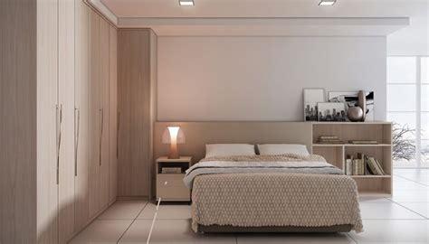 quarto planejado tirol com roupeiro de canto cama com prateleiras na cabeceira criado mudo