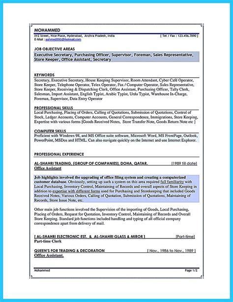Associate Buyer Resume Objective by Assistant Buyer Resume The Best Letter Sle