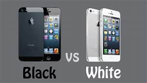 Black iPhone 5 vs White iPhone 5 | Black or White iPhone ...
