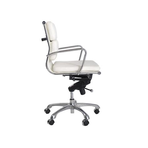 white and chrome office chairs istage homes