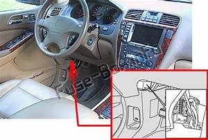 Fuse Box Diagram Acura Mdx  Yd1  2001