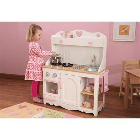 cdiscount cuisine en bois la cuisine dinette en bois complet avec meuble achat