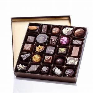 SQUARE BOX OF CHOCOLATES 300 G - Puyricard.fr