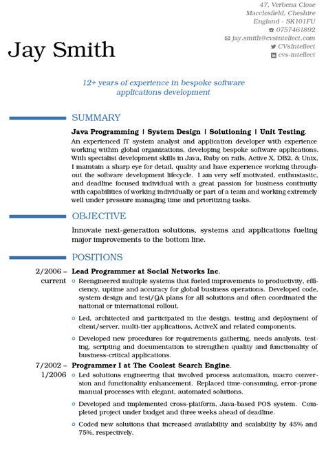 cvsintellectcom  resume specialists   cv