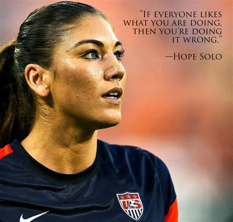 hope solo inspirational quotes quotesgram