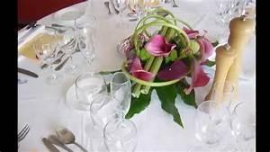 Centre De Table Mariage : centre de table mariage youtube ~ Melissatoandfro.com Idées de Décoration