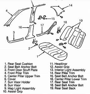 How Do You Access The Rear Seat Belt To Replace It