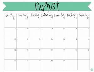 Calender August August 2017 Calendar Free Printable Live Craft Eat