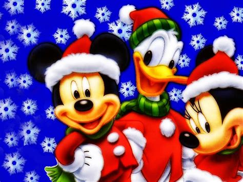 mickey mouse donald duck  minnie christmas wallpaper hd