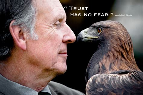 pamela leigh richards man eagle eye  eye trust pamela