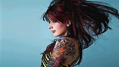 Tattoos Tattoo Tattooed Wallpapers Redheads Backgrounds Desktop