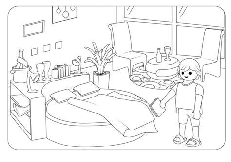 playmobil  ausmalbilder und basteln mit kindern