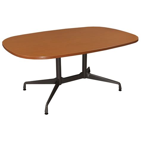 herman miller used 66 inch conference table cherry