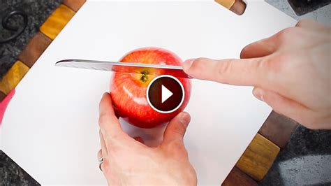 genius   cutting apples   simple