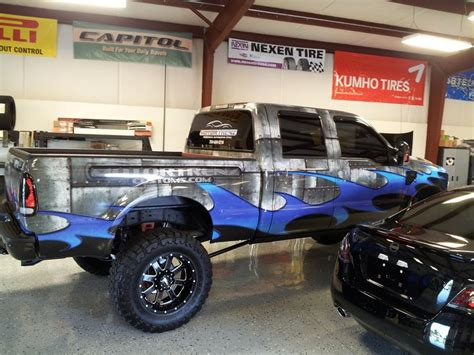 Boat Wraps Raleigh Nc by Truck Wrap For Motortrenz In Raleigh Nc Www Skinzwraps