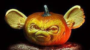 Ghoulishly, Grand, Carved, Pumpkins