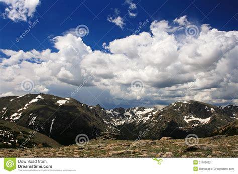 aerial view  rocky mountain national park  colorado