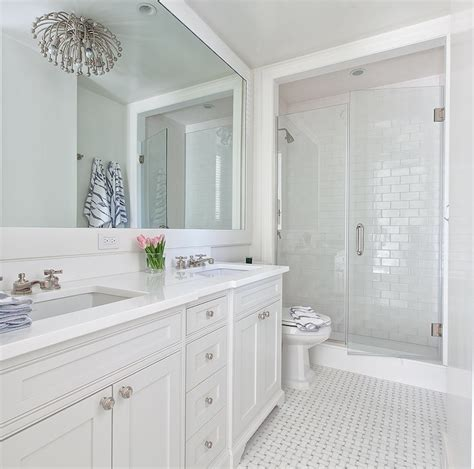 all white bathroom ideas kohler adjustable shelf with electrical outlets transitional bathroom the hunted interior