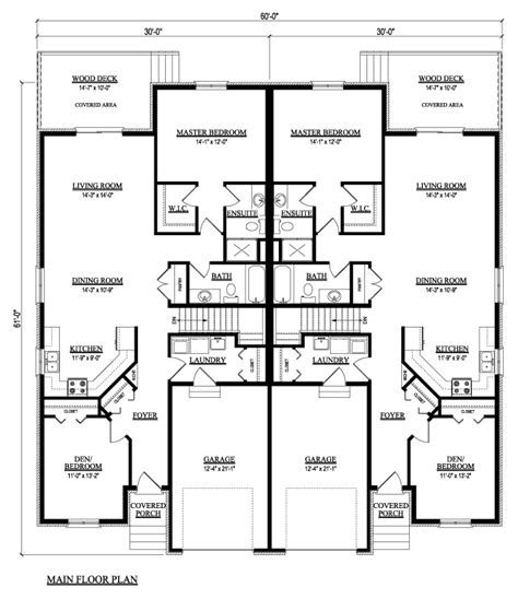 country house plans one story duplex condo house plans house of sles