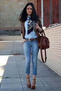 How to wear Denim Shirt on Pinterest | Denim Shirts Chambray and Shirt Blouses