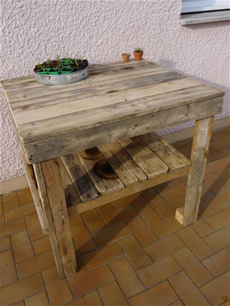 construire sa cuisine d été faire un salon de jardin en palette deco cool