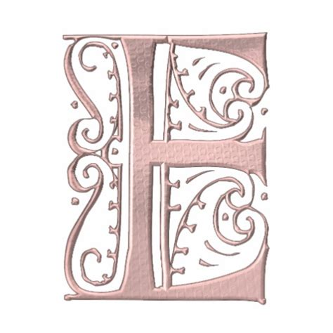 Images Of Fancy Letter E Designs Golfclub