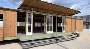 Maison Modulaire Bois : maison modulaire en bois pas cher ventana blog ~ Melissatoandfro.com Idées de Décoration