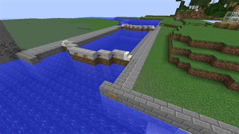 Minecraft Boat Canal by Minecraft Canal Lock 1 By Fatthoron On Deviantart