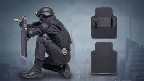 kneeling pad small ballistic shield