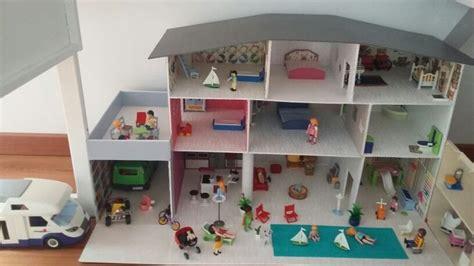 maison playmobil faite par ma maman en cartonnage d apr 232 s le mod 232 le de mamy susette