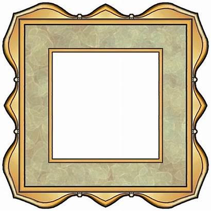 Square Clip Scrapbook Frames Navy Crafty Kahki