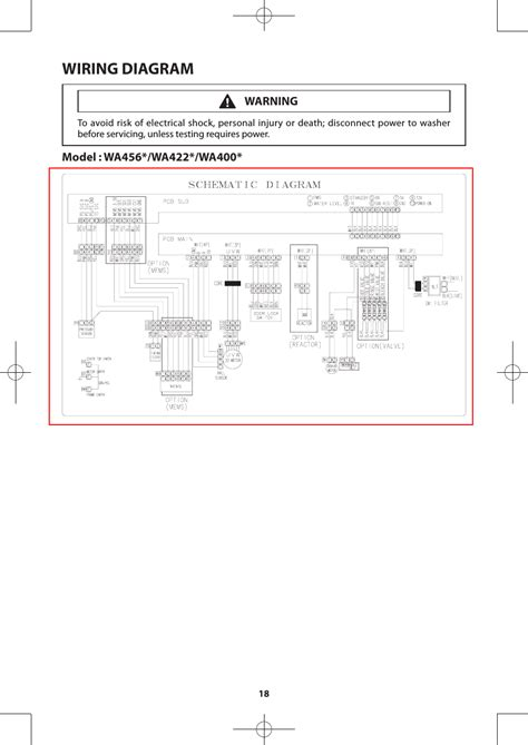 wiring diagram samsung wadrhdwr aa user manual page