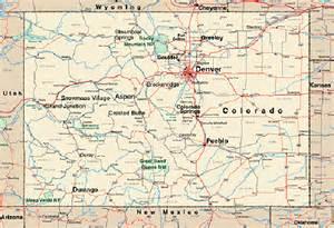Northern Colorado Cities Map