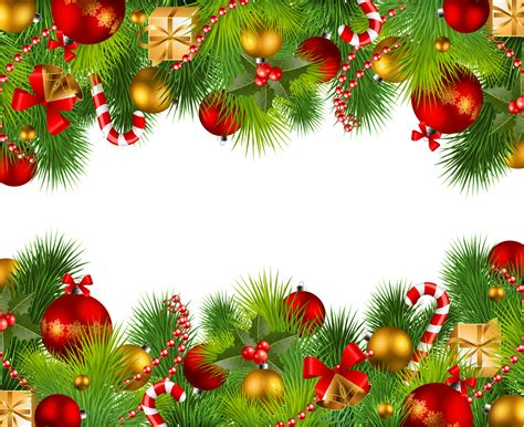 christmas decoration png image