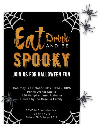 Free Printable Halloween Party Invitations 2018 [ Template]. Shapes And Designs. Job Ad Template. Fun Meeting Agenda Template. University Of Akron Graduation. Concert Tickets Template Free. Papel Picado Template Wedding. Create Wellness Manager Cover Letter. Avery Mailing Label Template