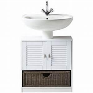 meuble bas lavabo salle de bain With meuble sous lavabo avec colonne 5 meuble salle de bains design atlantic bain