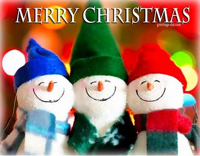 Merry Wishes Greetings Christmas Greeting Happy Cards