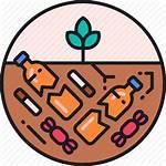Clipart Pollution Soil Transparent Orange Line
